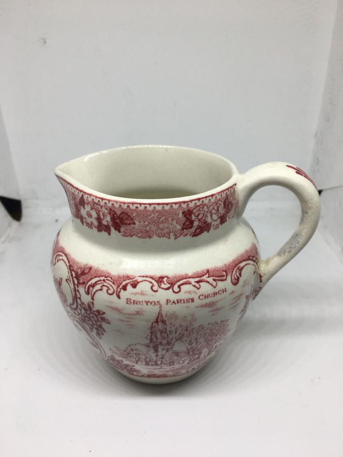 Staffordshire Pottery Cream Jug