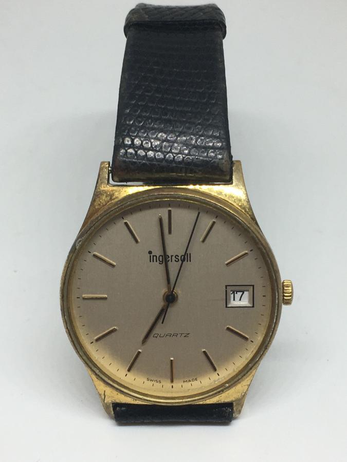 Vintage Ingersol Swiss Made Wristwatch