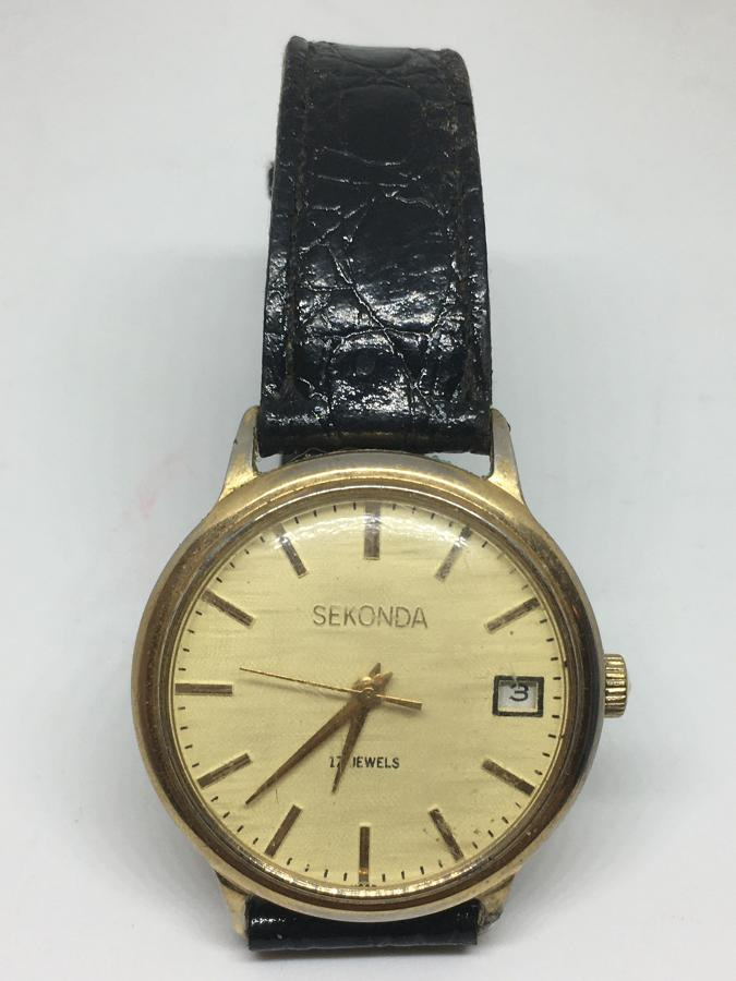 Gent's Vintage Sekonda Wristwatch 17 Jewels