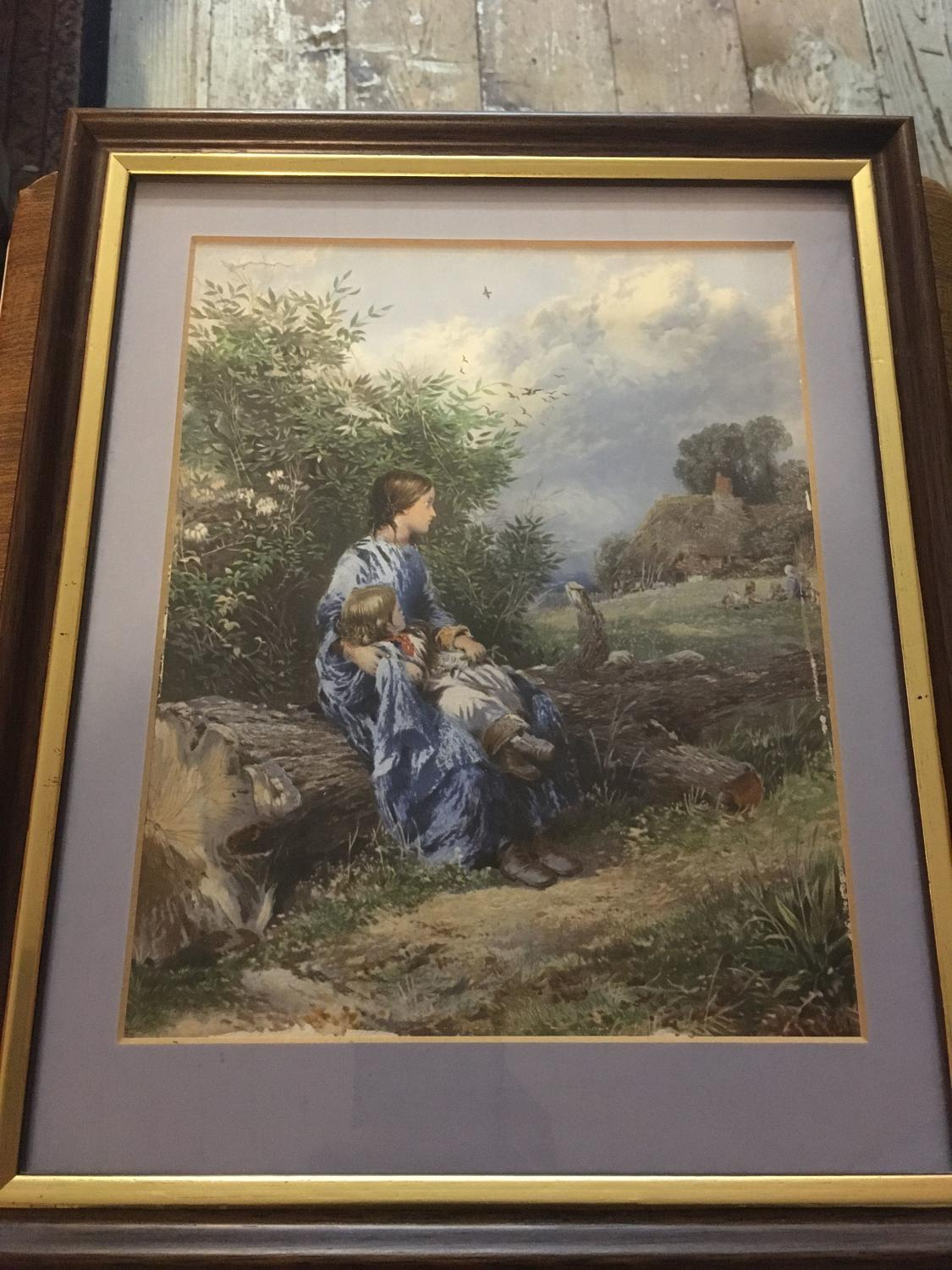 A Pair Of Framed Prints By Myles Birket Foster