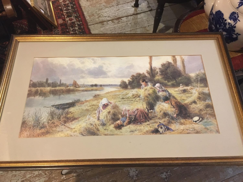 Large Framed Print By Myles Birket Foster