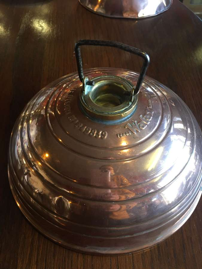 Antique Copper Foot Warmer