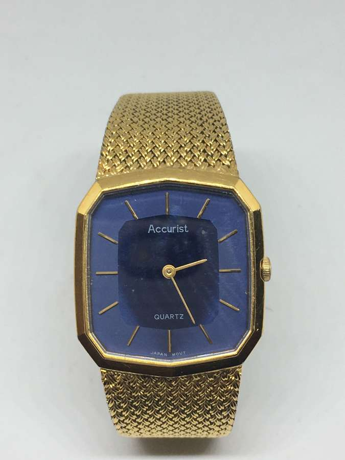 Gent's Quartz Accurist Watch