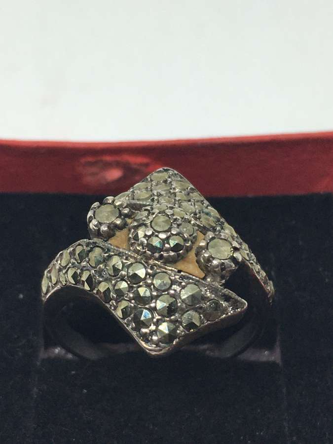 925 Silver & Marcasite Ring