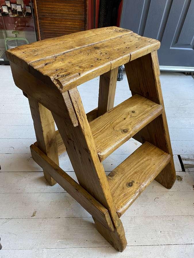 Large Oak Mill Steps