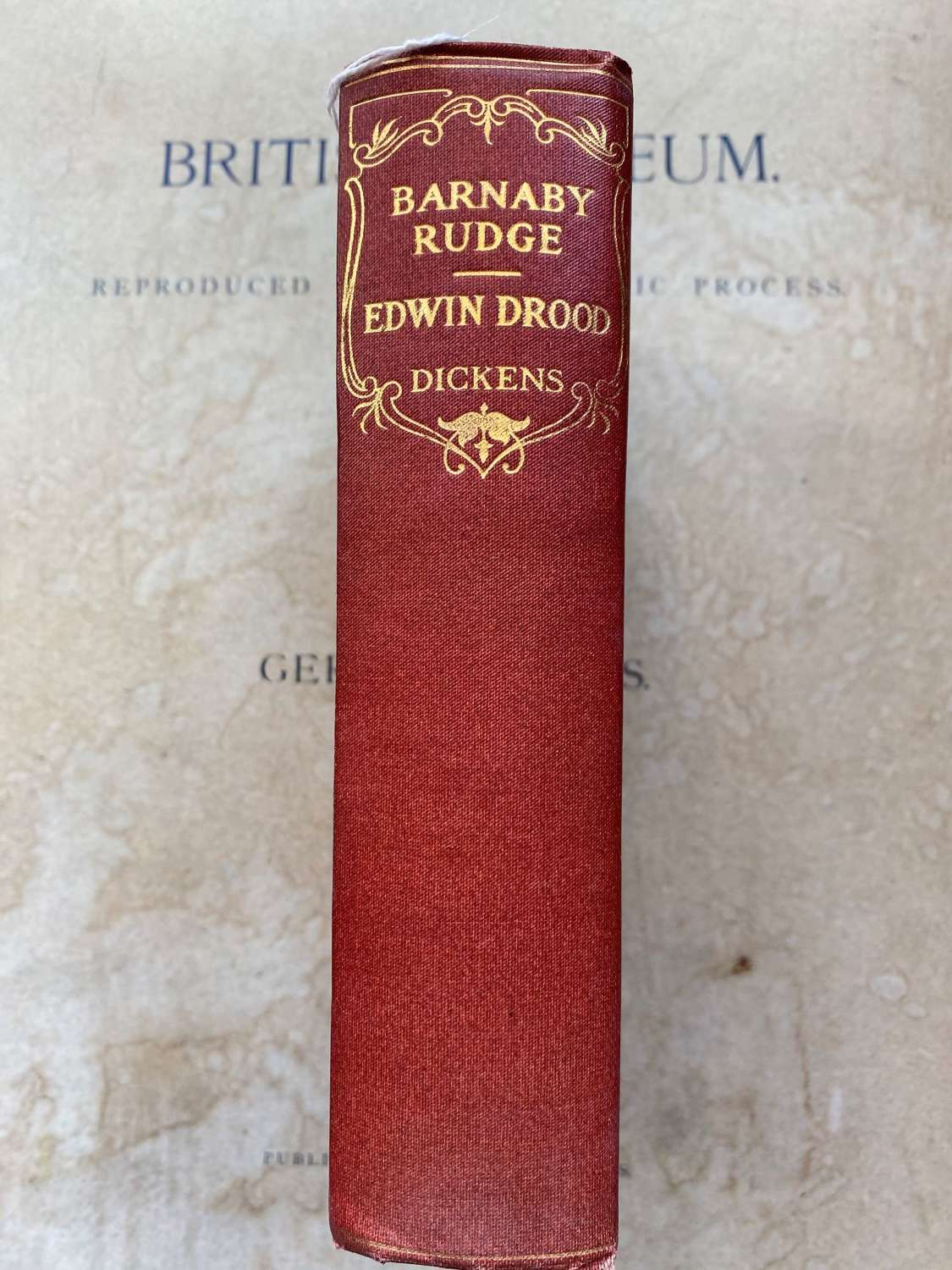 Barnaby Rudge & Edwin Drood by Charles Dickens