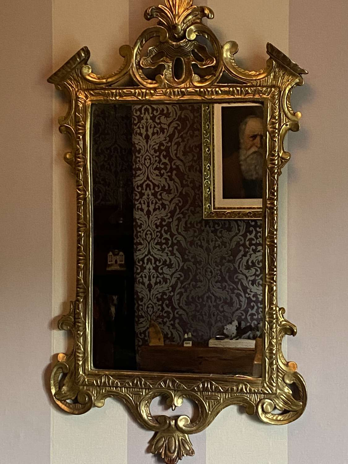 Fine 19thC Style Giltwood Wall Mirror