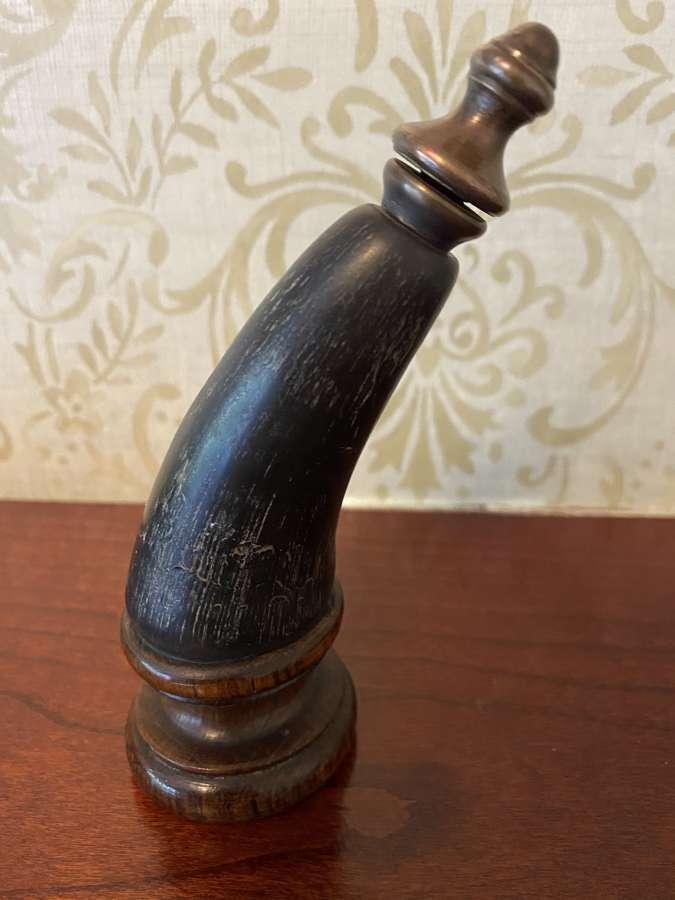 Victorian Horn Ornament