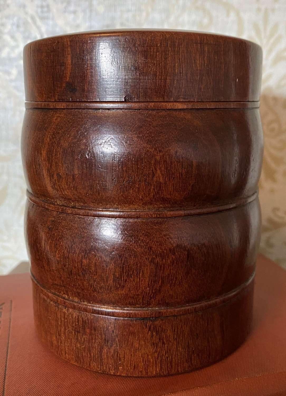 Victorian Mahogany Tobacco Box & Cover