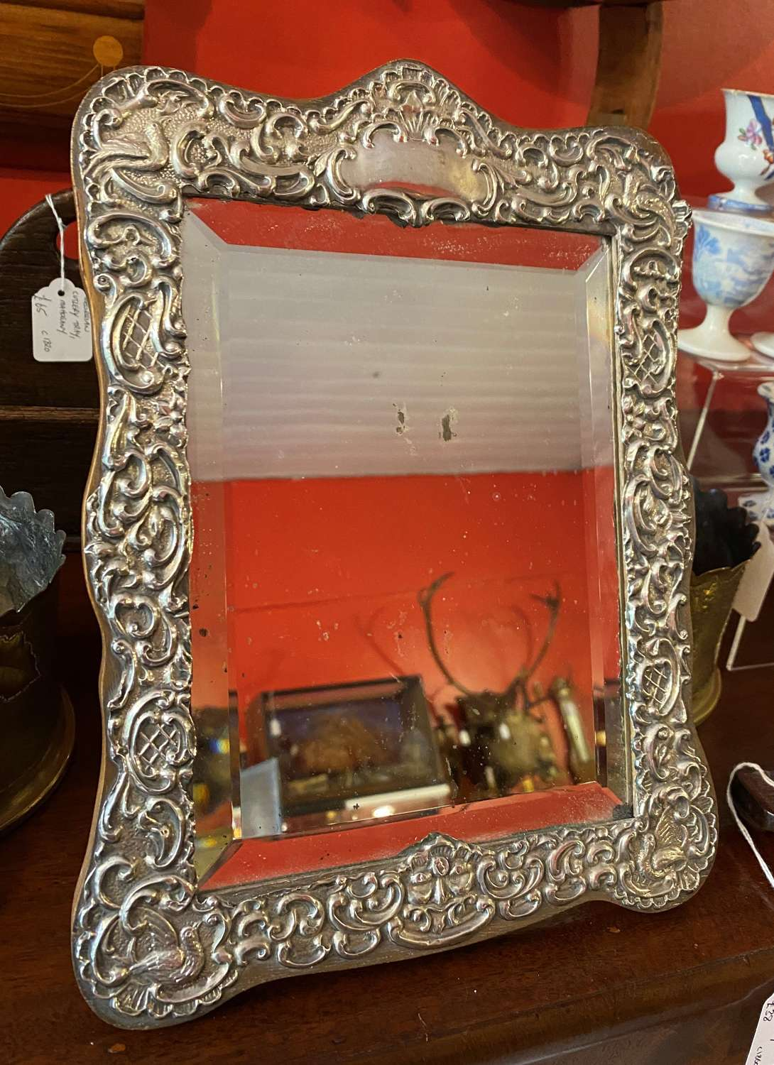 Solid Silver Mirror Chester 1904