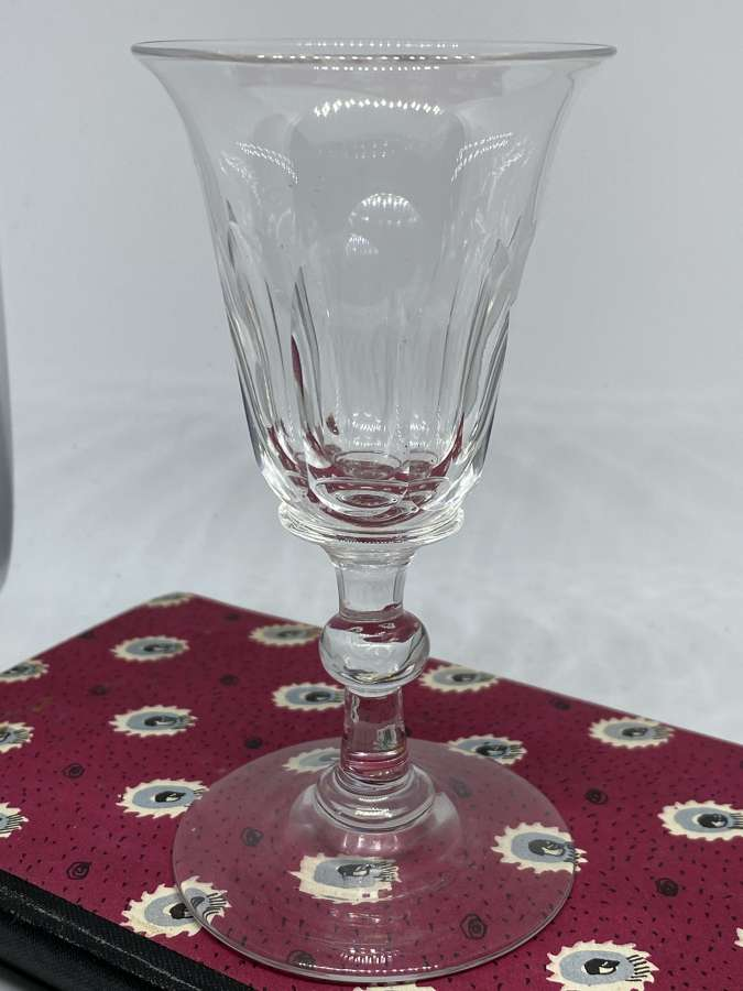 Early Victorian Wine Glass