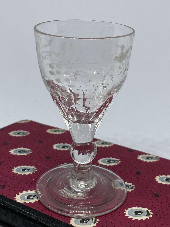 Small Georgian Port Glass c1780