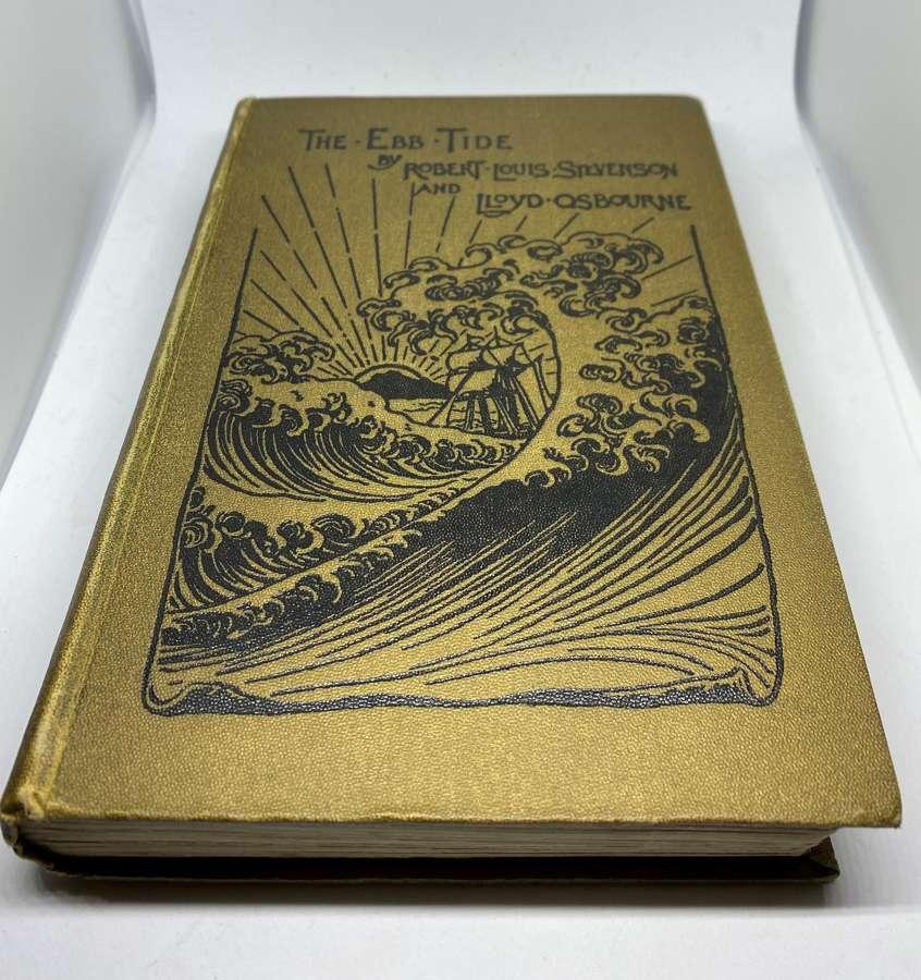 The Ebb Tide By Robert Louis Stevenson Frist Edition 1894