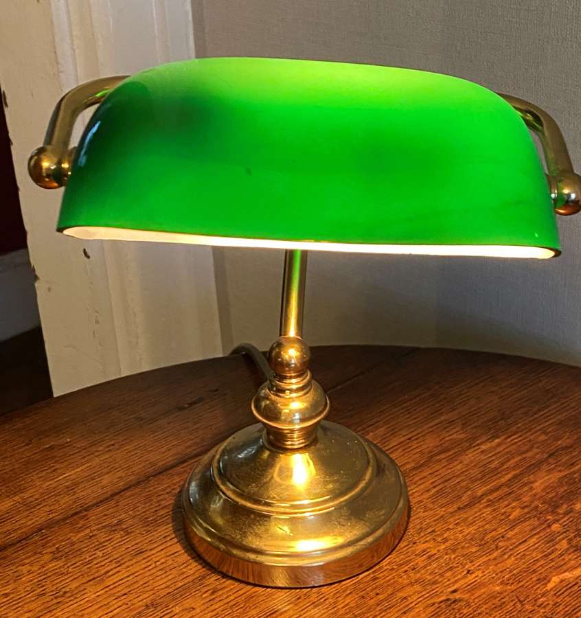 Small Banker's Style Desk Lamp