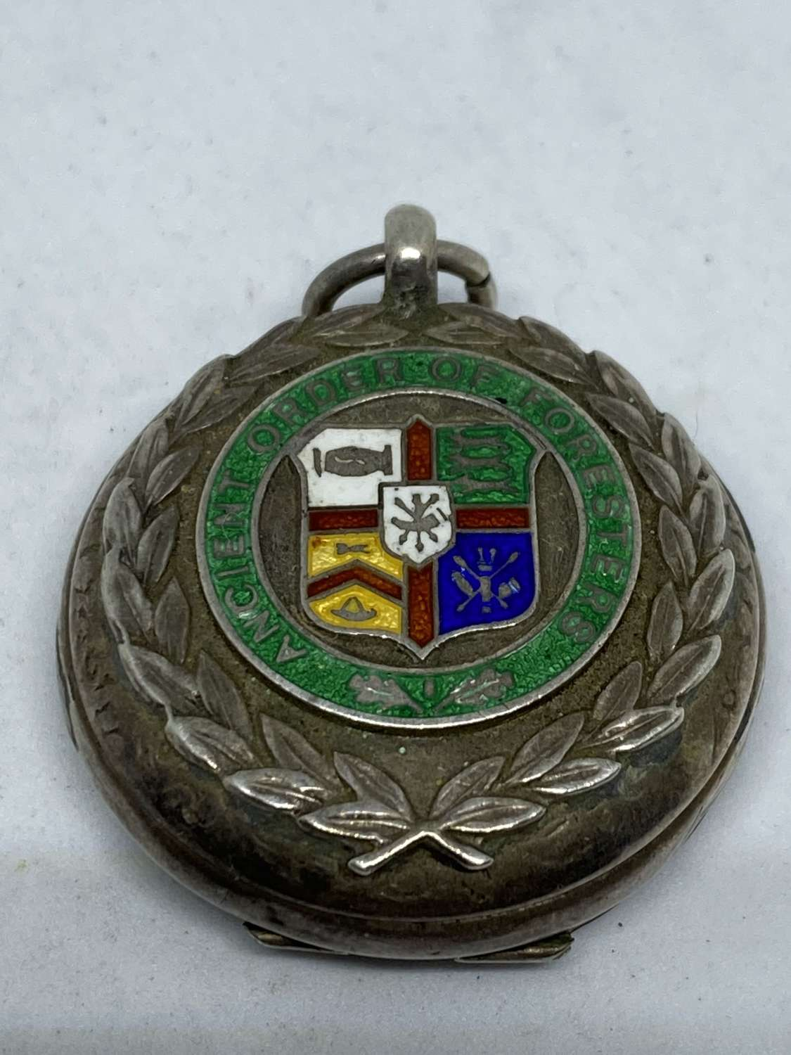 Silver Order Of Foresters Box
