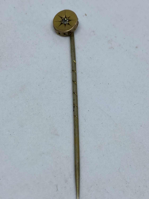 Yellow Metal Stick Pin