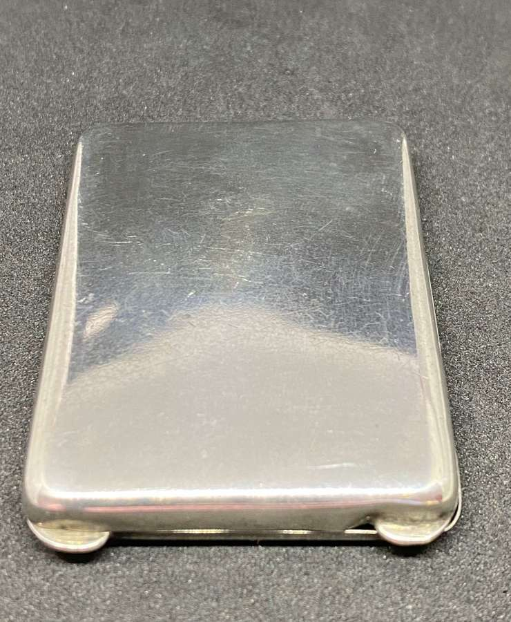 Solid Silver Match Book