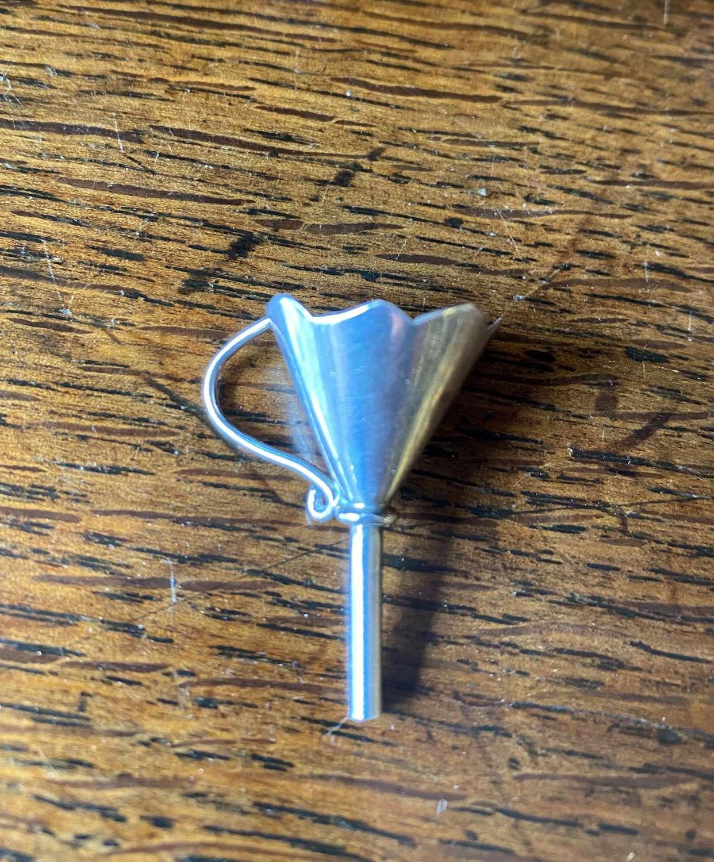 Silver Perfume Bottle Funnel