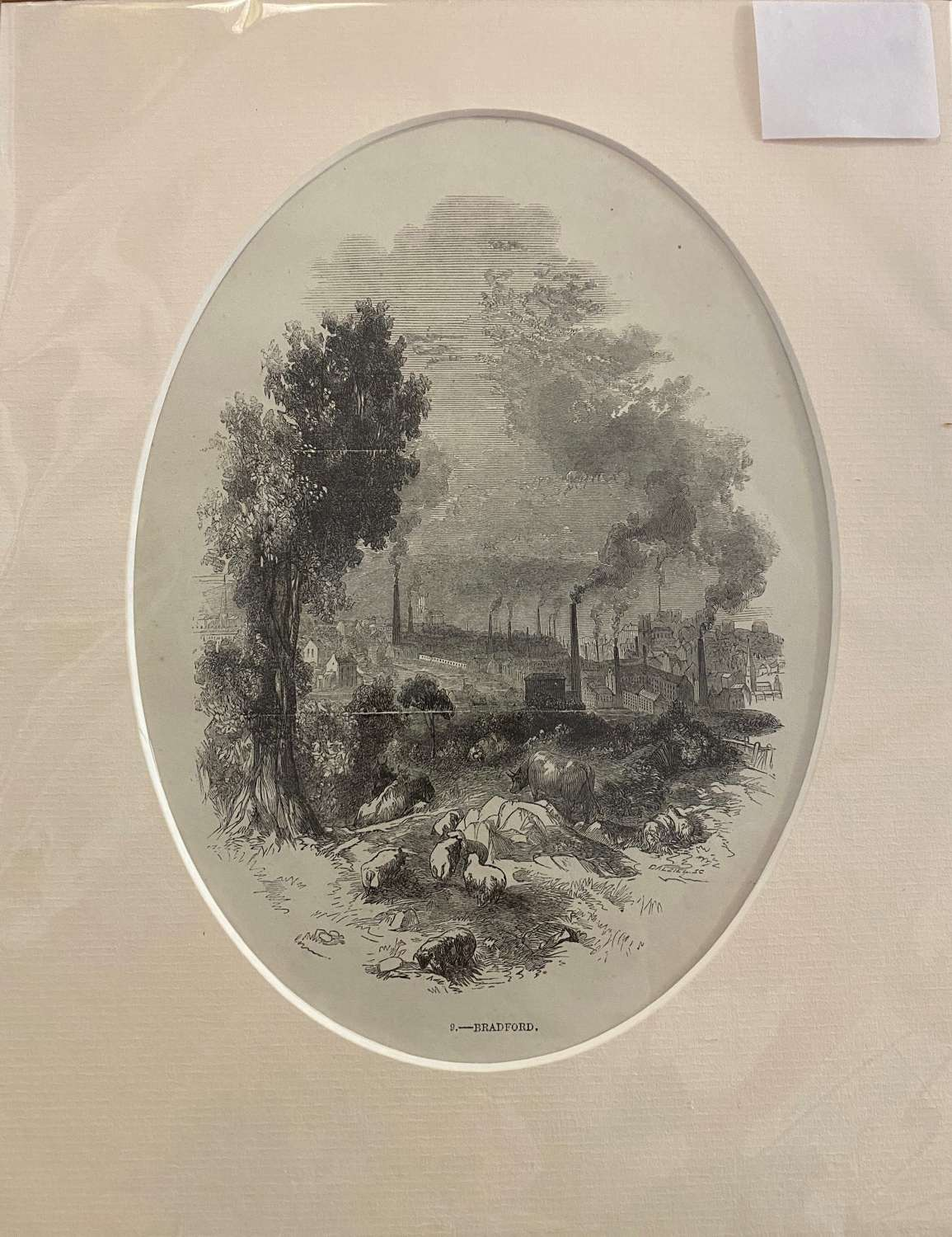 Antique Mounted Print