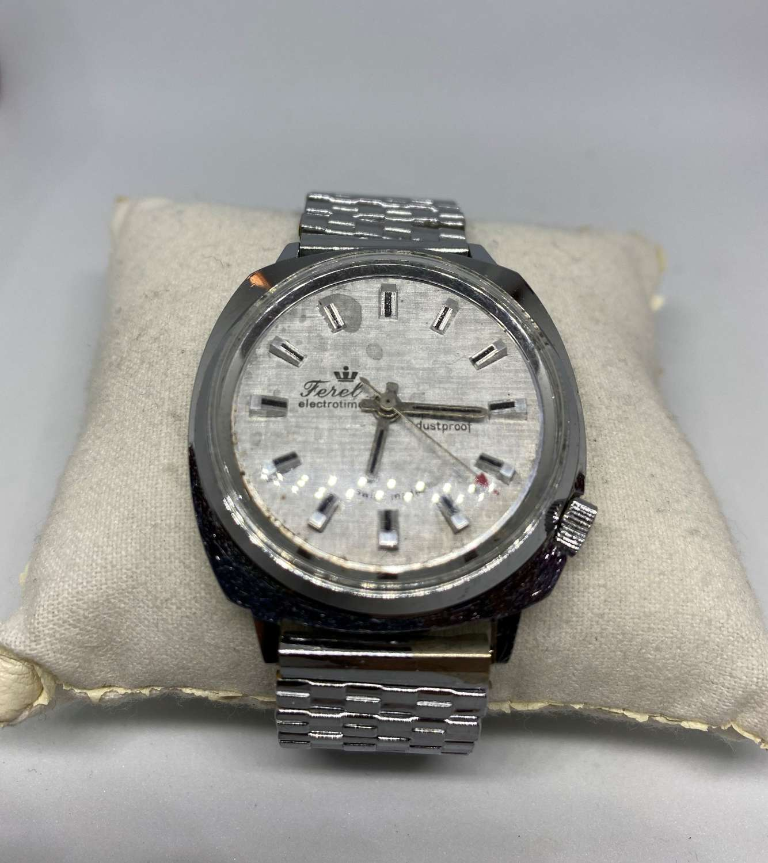 Vintage Ferel Electrotime Gent's Wrist Watch