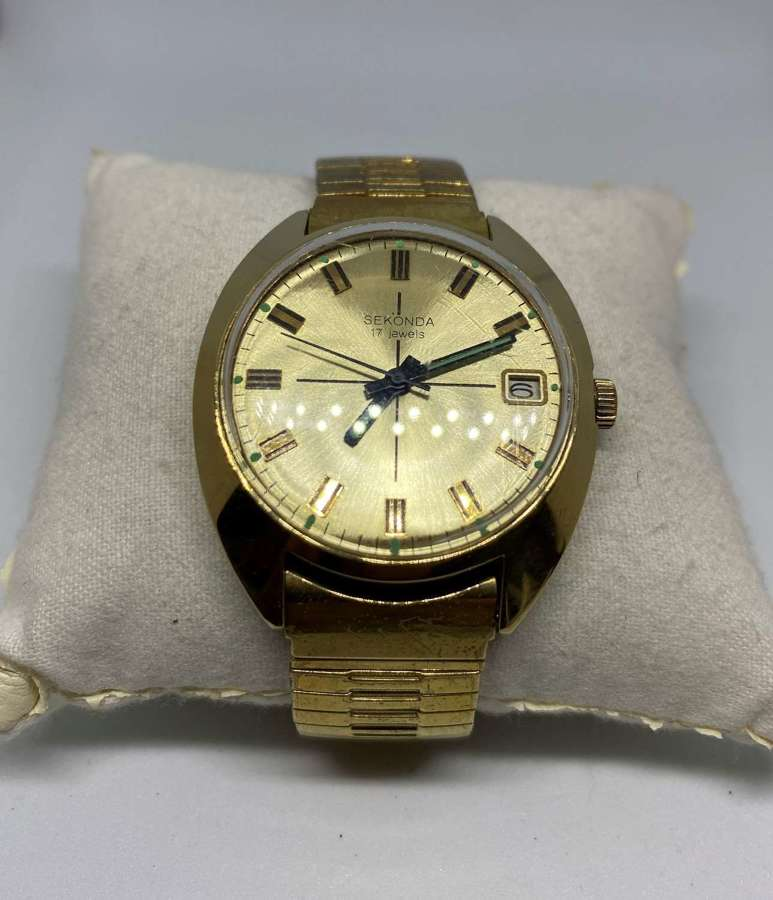 Vintage Sekonda 17 Jewels Gent's Wrist Watch