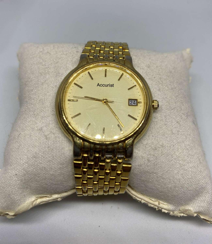 Vintage Gent's Accurist Wrist Watch
