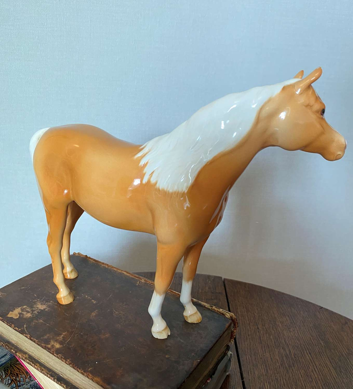 Beswick Palomino Race Horse