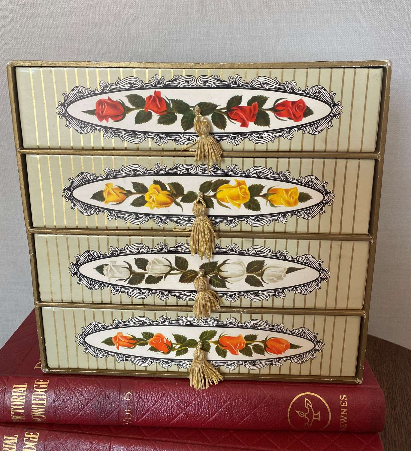Vintage Terry's Chocolate Box Set Of Drawers