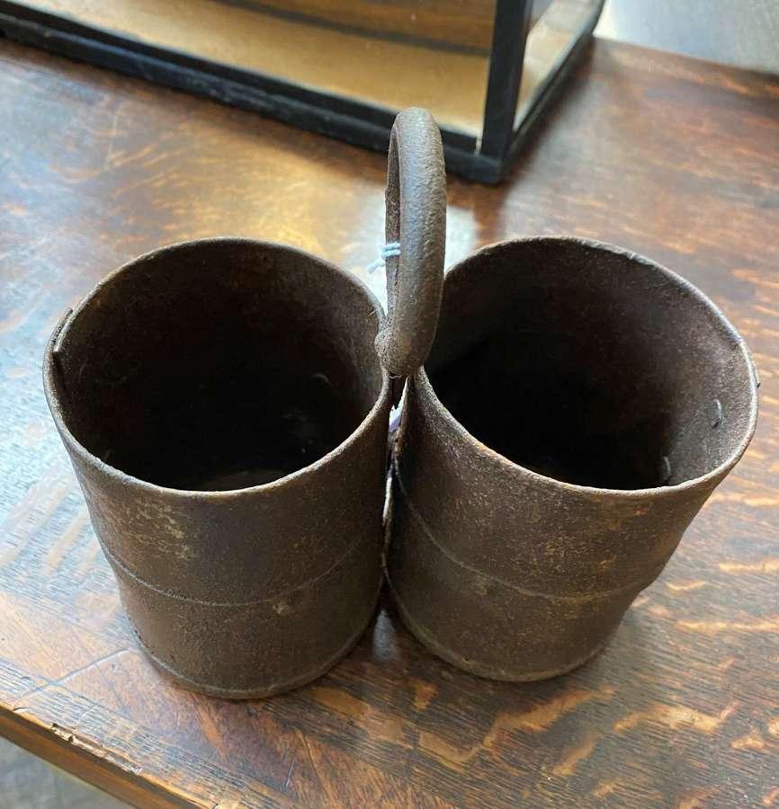 Indian Metal Rice Pots