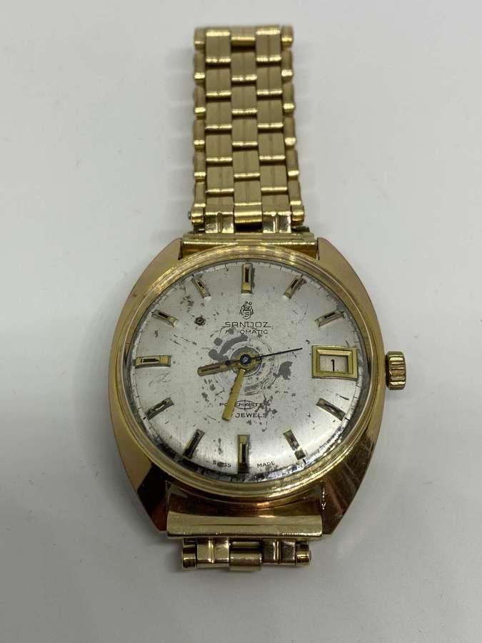 Gents Sandoz Polemaster Automatic 25 Jewel Wrist Watch