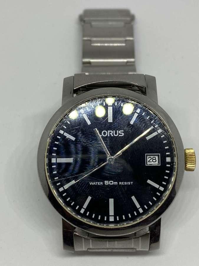 Gent's Lorus Wrist Watch